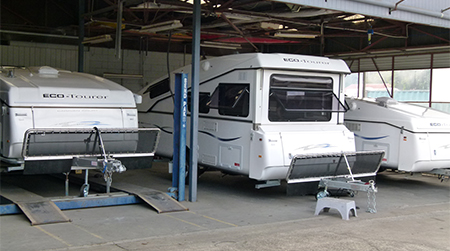 Caravan Court Workshop